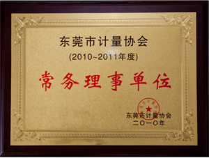 Council of the Institute of Guangdong measurement